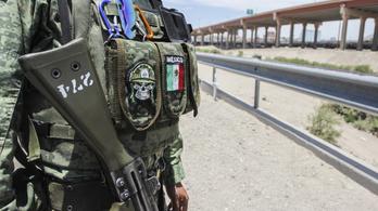 Mexikó a hadsereggel próbálja akadályozni az illegális migrációt