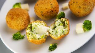 Brokkolis krokett? Zöldséggel és fokhagymával ügyesen feldobhatod a klasszikus burgonyaköretet