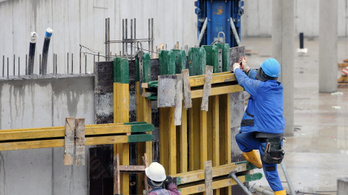 Rengeteg építőipari dolgozót foglalkoztattak feketén tavaly