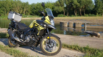 Teszt: Suzuki V-Strom 650 XT - 2020.
