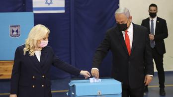 A sikeres oltási program nyerheti meg Netanjahunak a választást