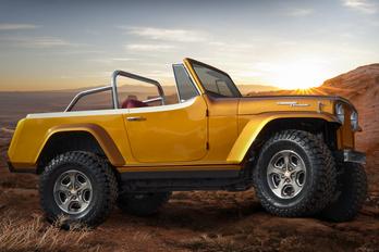 Jeepster Beach Concept: kedves gyári múltidézés