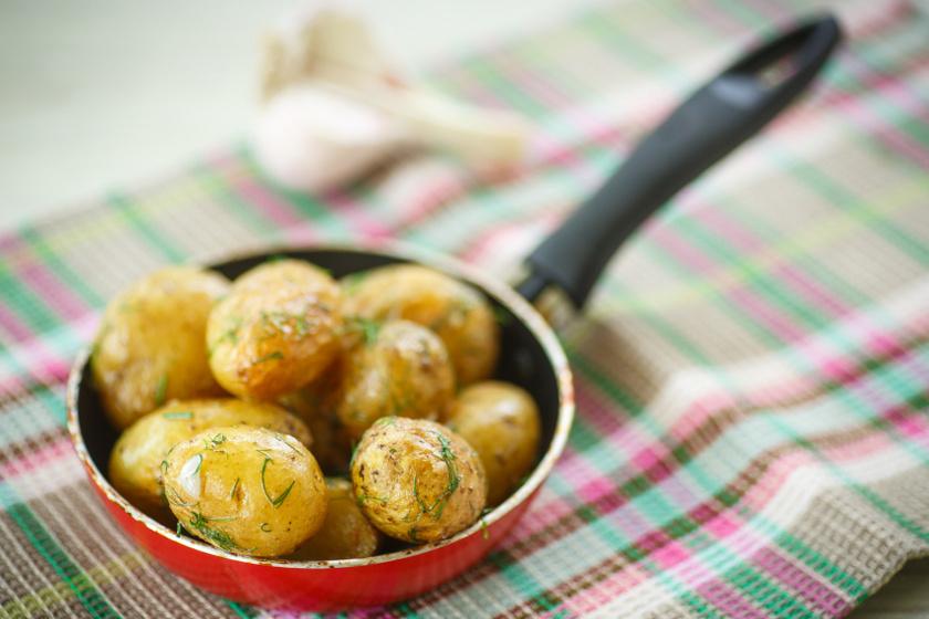 sült újkrumpli recept ok