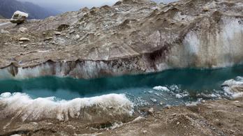 A legnagyobb hidegben olvadt a permafroszt talaj az Alpokban