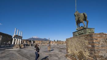 Negyedóra alatt végzett a vulkán Pompeji lakosaival
