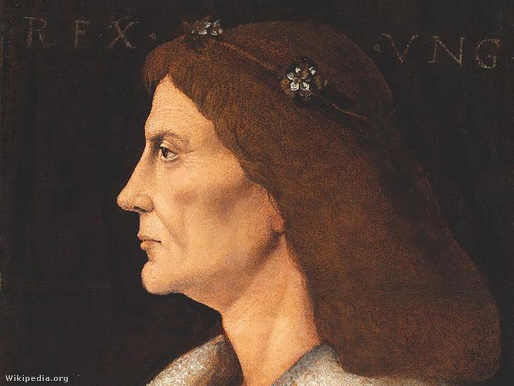 Mátyás király 16. századi portrémásolata