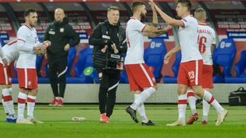 Koronavírusos lett a lengyelek futballistája a magyarok elleni meccs előtt