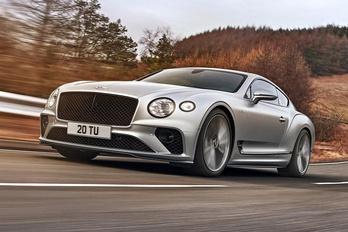 Új legerősebb Bentley született a világra