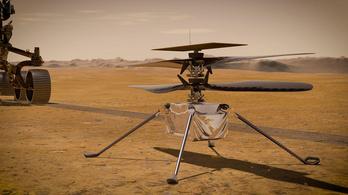 Áprilisban rajtol a NASA kísérleti marshelikoptere