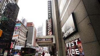 Online indul újra a Broadway