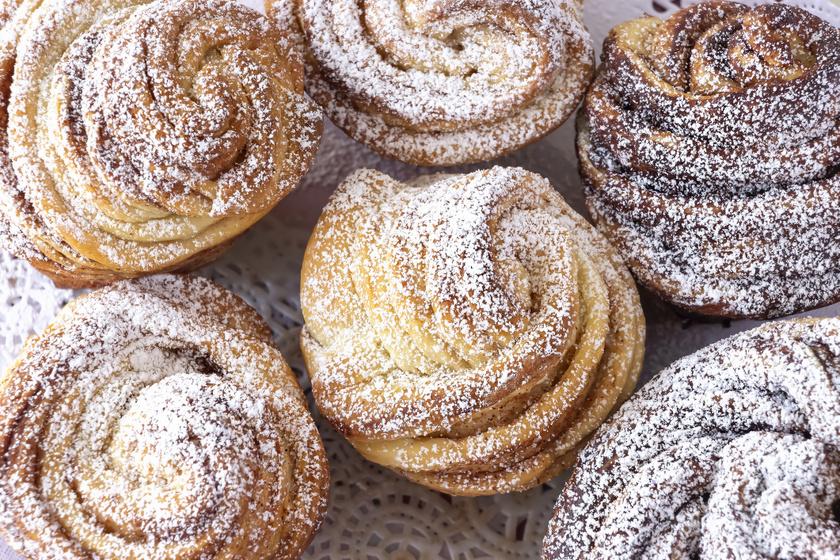 Kívül ropogós, belül puha húsvéti cruffin: egyszerre muffin és croissant