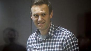 Romlott a fogolytelepen Navalnij egészsége