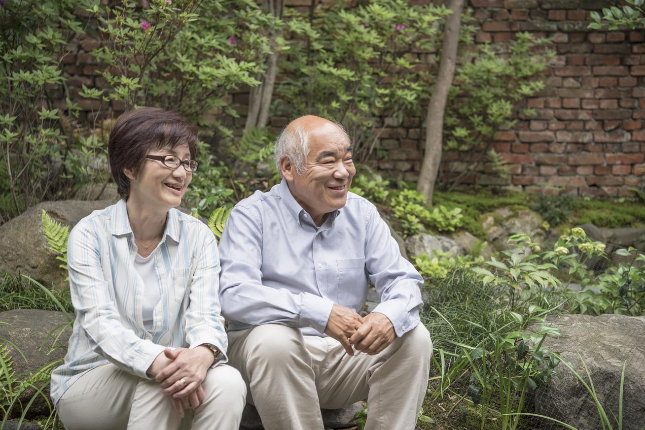 idős japán pár