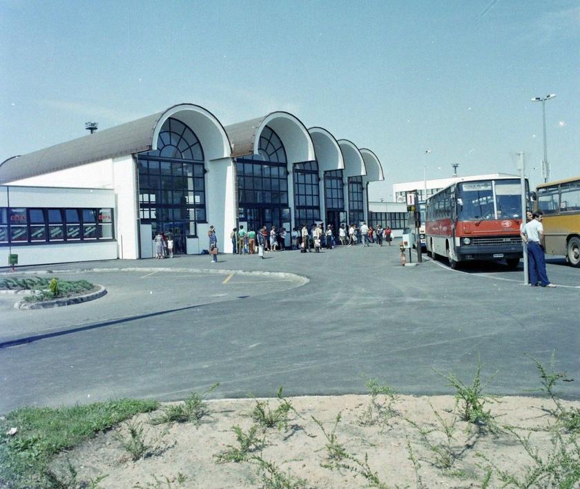 Mátészalka, vasútállomás.