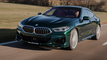 Alpina B8: csúcs-BMW, kicsit másképp