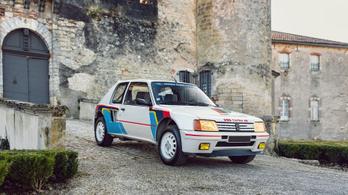 Jean Todt céges autója, a pusztító kis Peugeot