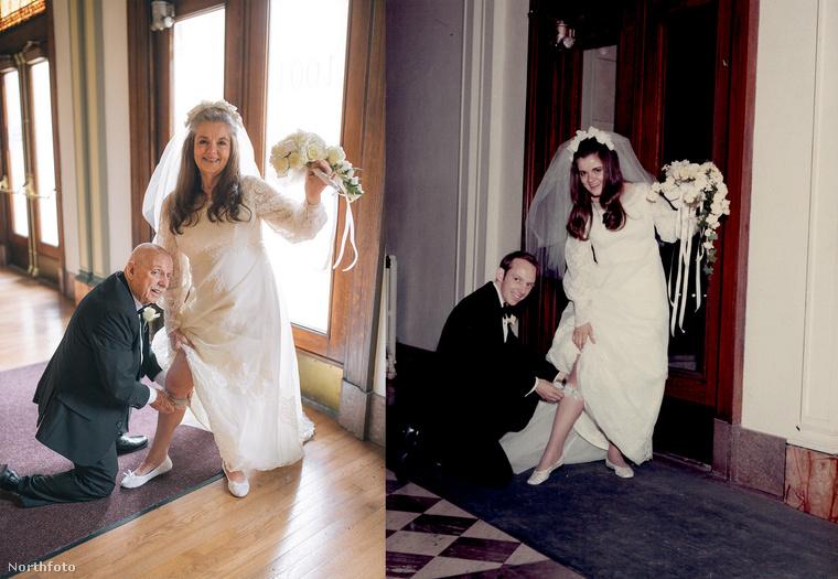 A Gay-házaspár nagyon szerencsés, hogy egyrészt ilyen szép képek készültek róluk, másrészt, hogy ezeket meg lehetett ismételni