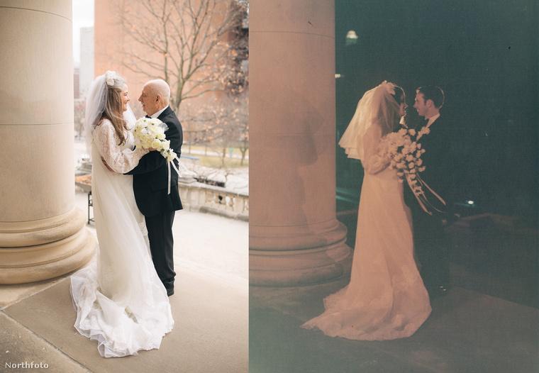 Galériánk itt véget ér, de ha szeretne megtekinteni egy vőlegényt, aki meglátta a menyasszonyát, és elnevette magát, akkor erre tessék!