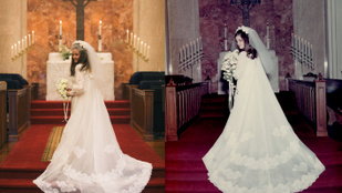 Ez a pár 50 év után megismételte az esküvői fotóit