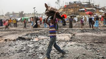 Az ENSZ 14 millió dollárt ad a rohingja menekülttáborok újjáépítésére