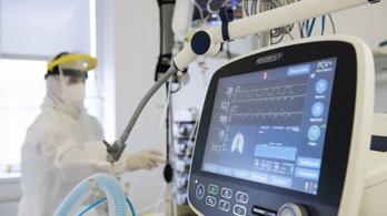 Napokon belül átléphetjük lélegeztetőgépeink kapacitását