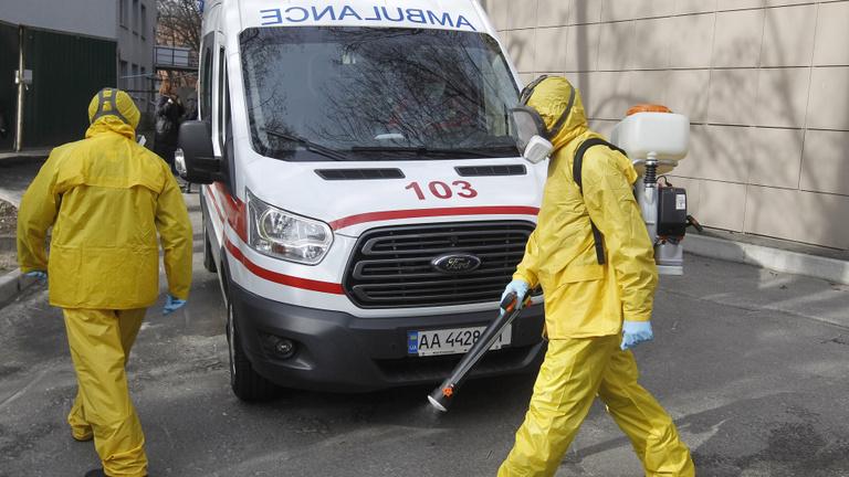 Berobbant a Covid-járvány Ukrajnában