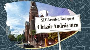 A Cházár András utca névadója a siketek intézetének alapításával írta be magát a történelembe