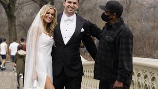 Denzel Washington belesétált egy esküvői fotózásba