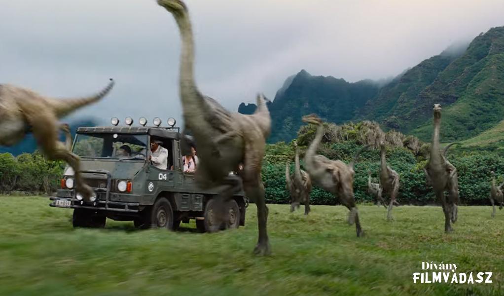 Kitalálod, melyik Jurassic Park-filmből van a kép?