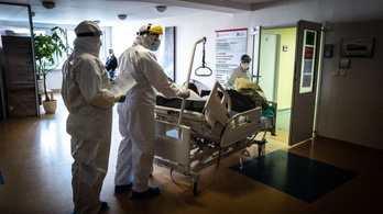Szlovákia: egyre kevesebb fertőzött van kórházban