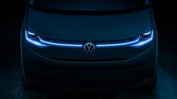 Mutattak egy részletet az új VW Multivanból