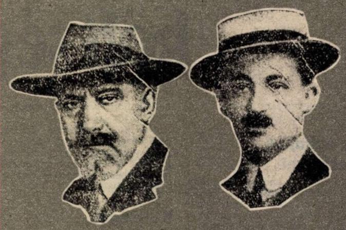 Imre Nadosi and Prince Lajos Windieschrods