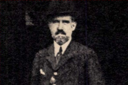 Imre Nadosi before being arrested