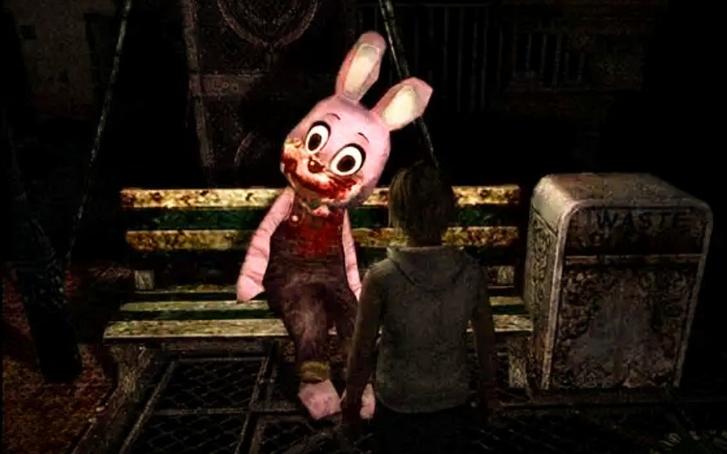 """""""Robbie"""", amikor először találkozunk vele a Silent Hill 3-ban (Forrás: Konami)"""