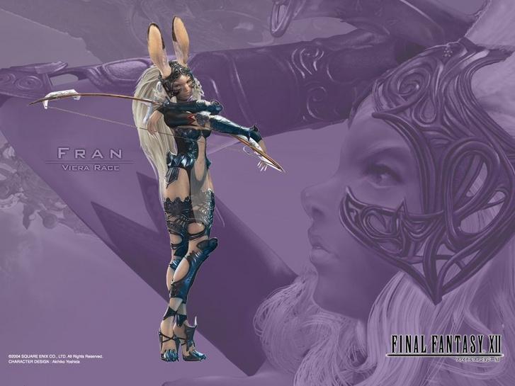 Fran a Final Fantasy XII-ben (Forrás: Square Enix)