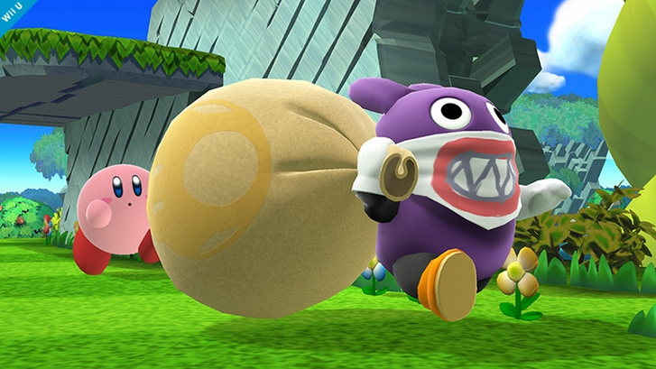 Nabbit, a kövér, kleptomániás nyúl Super Mario egyik ellensége volt (Forrás: Nintendo)
