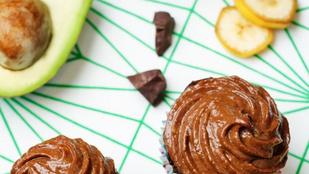 Mogyoróvajas avokádómuffin – több zöldséggel egészségesebb