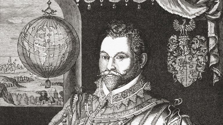 Kalózból lett lovag, aki angolként elsőnek hajózta körbe a földet