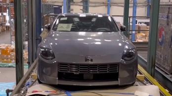 Kiszivárgott részletek az új Nissan sportkocsiról