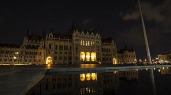 Este elsötétül a főváros