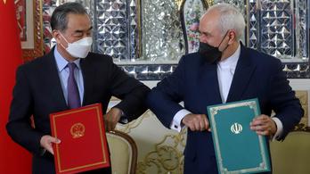 Együttműködési megállapodást kötött Kína és Irán