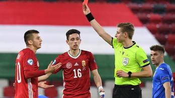 Túl sok volt az 50 percnyi emberhátrány az U21-eseknek Románia ellen
