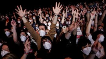Koncertet tartottak Barcelonában, pont ahogy régen