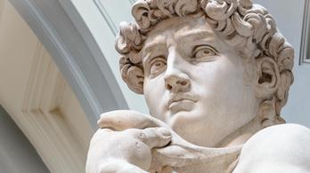 Michelangelo Dávid-szobor szeme