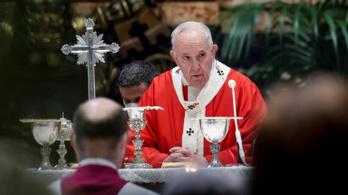 Ferenc pápa a járvány okozta lelki válságról beszélt virágvasárnap