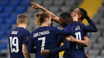 Félgőzzel is nyertek a franciák Kazahsztánban