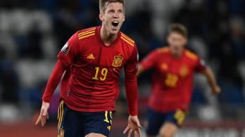 Vért izzadva, a 92. percben nyertek a spanyolok Grúziában