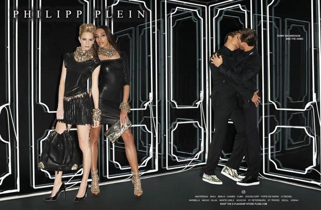 A modellek Poppy Delevingne, Lea T és Marcio és Marco Patriota