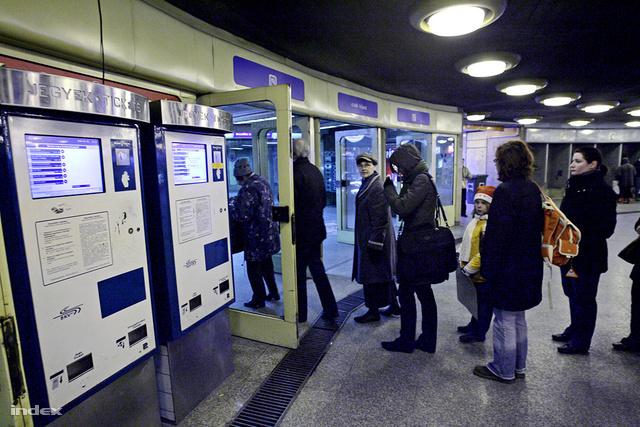 A jelenleg üzemelő automaták Újpesten