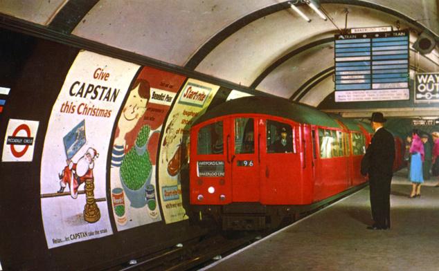 A Piccadilly megálló a hatvanas évek elején